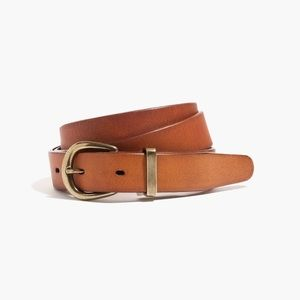 Madewell leather belt - M